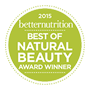 Best of Natural Beauty - Better Nutrition Award