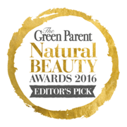 Green Parent Natural Beauty Awards 2016 - editors pick logo