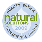Natural Solutions - Beauty with a Conscience Award